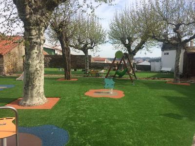 Continúa la remodelación del parque de San Roque