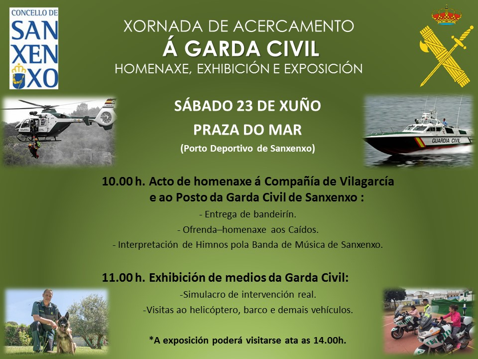 Homenaje a la guardia civil